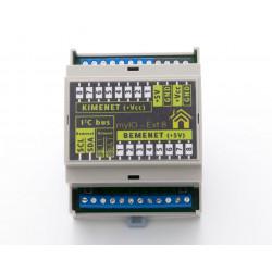 myIO PCF8 portbővítő DIN KIT