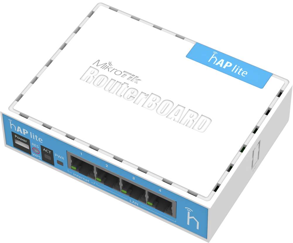 mikrotik hap lite router smarthome
